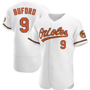 Authentic Don Buford Men's Baltimore Orioles White Home Jersey
